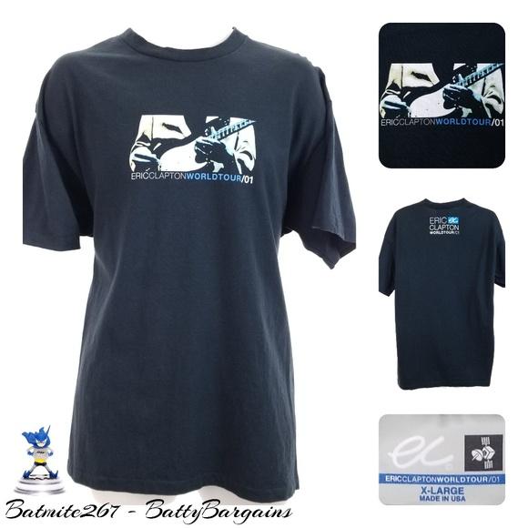 d600eb8e Eric Clapton Shirts   Concert T Shirt Xl World Tour Fender   Poshmark